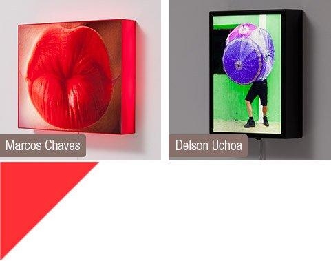 Montagem de Moldura com Caixas Backlight para Fotografias