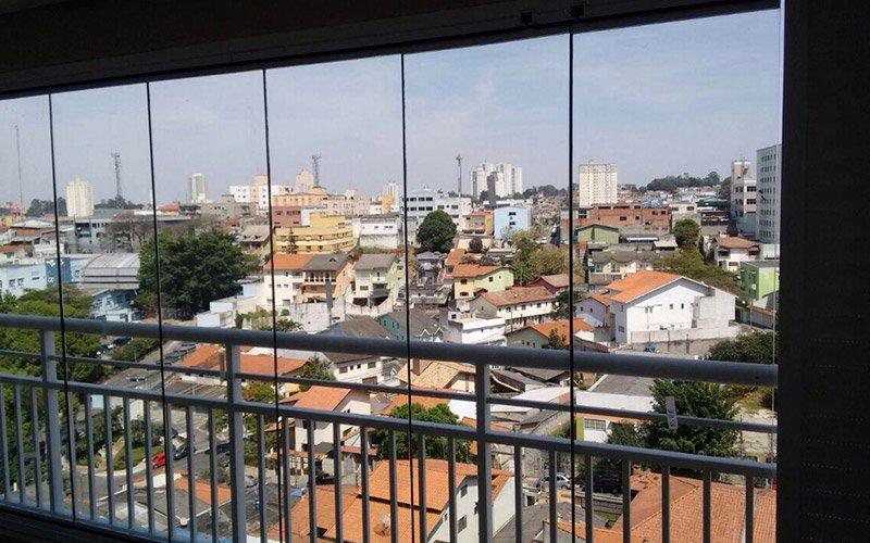 Envidraçamento de Sacadas em São Caetano