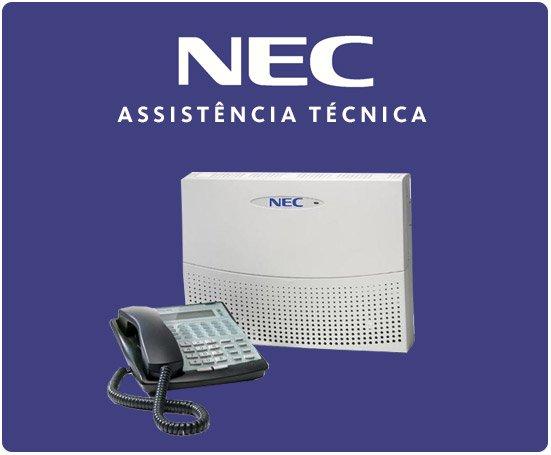 Assistência Técnica PABX NEC em SP