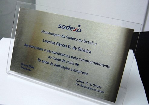 Placas de Aço Escovado em São Paulo