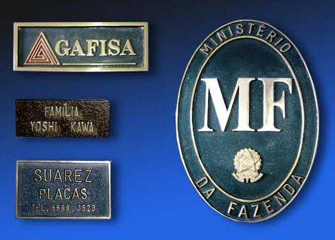 Placas Fundidas de Sinalização em São Paulo