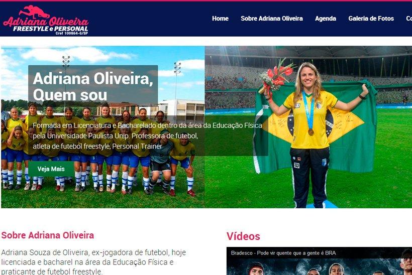 Criação de Site Adriana Oliveira