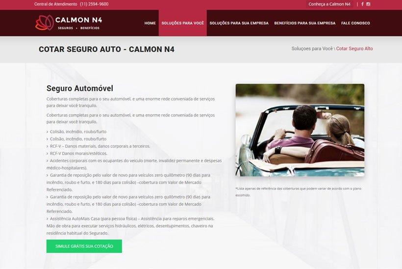 Criação de Site Calmon N4
