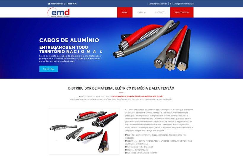 Criação de Site EMD