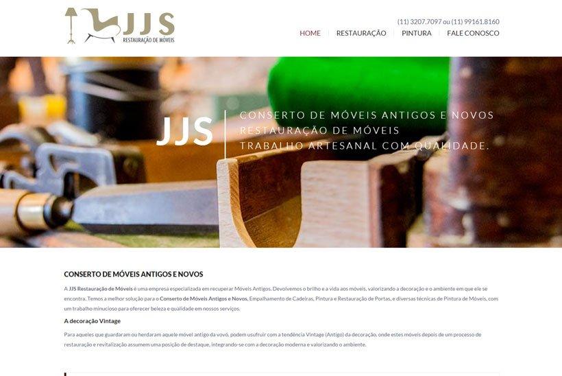 Criação de Site com SEO para JJS Reforma de Móveis