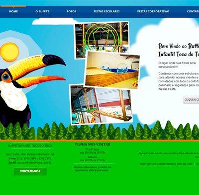 Desenvolvimento de site para Buffet